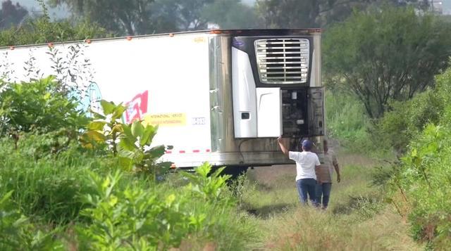 墨西哥停尸卡车内装满尸体有150具 墨西哥停尸卡车照片曝光