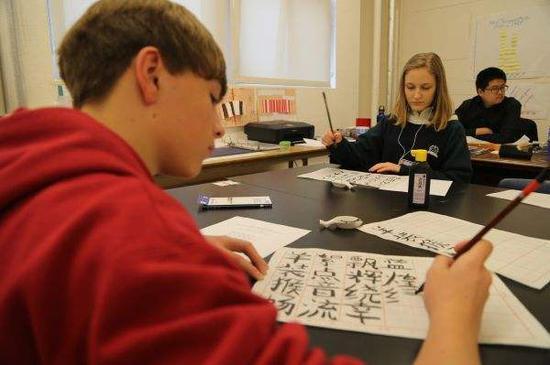 漢語在俄羅斯熱度不減 中小學生學漢語人數大增