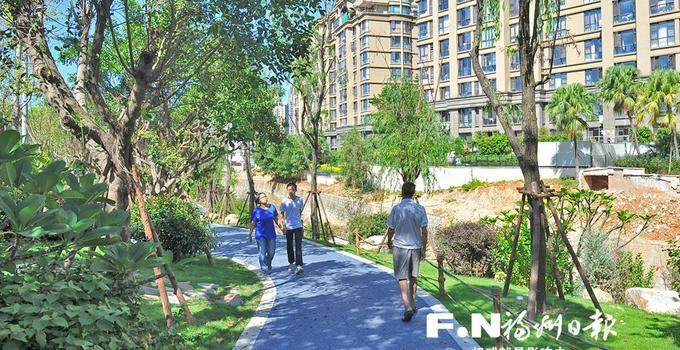 年底福州累計建成串珠公園168個、濱河綠道400多公里