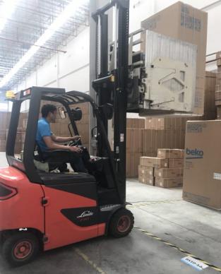 福州首台国米定制版冰箱送货上门 苏宁倍科老总齐出动669