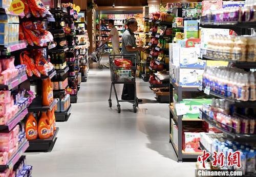 前8月社会消费品零售总额增长9.3% 态势平稳增长
