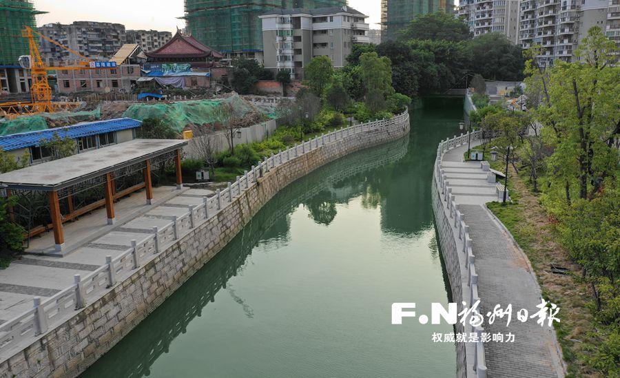 沿河景观提升 福州茶亭河力争月底全新亮相