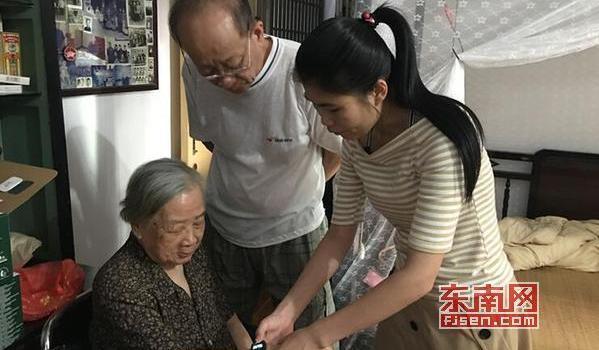 """莆田:""""閩善行""""志愿者走進社區 為老人提供入戶服務"""