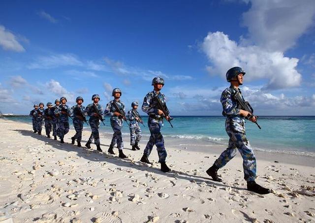 国防部回应美舰内容全文 美军舰非法进入南沙群岛邻近海域始末