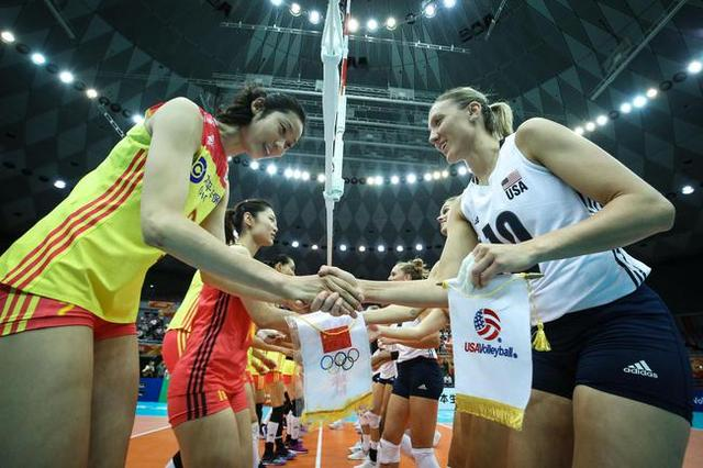 世锦赛中国女排3-0零封美国,提前锁定六强席位