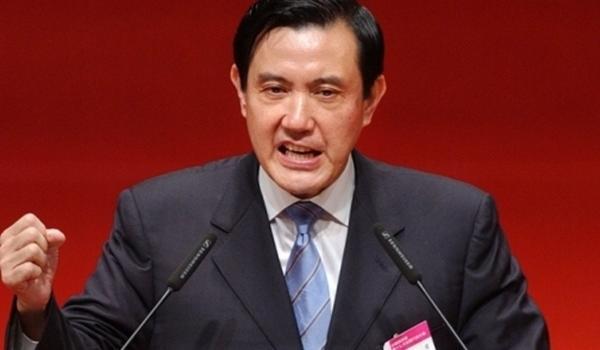 """马英九谈蔡英文""""双十节""""演说:台湾经济倒退何来发展"""