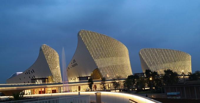 福州海峡文化艺术中心昨晚惊艳首秀!