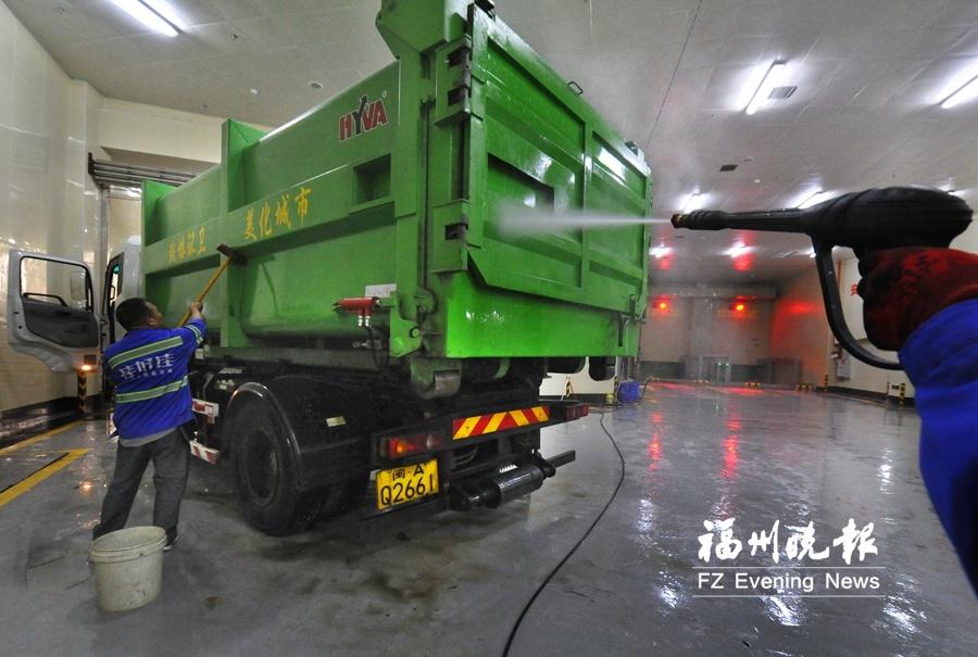 福建省首座花园式纯地下垃圾转运站探秘