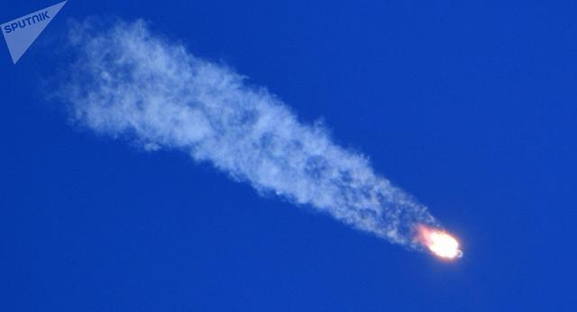 俄军已找到飞船发射事故后逃生的航天员