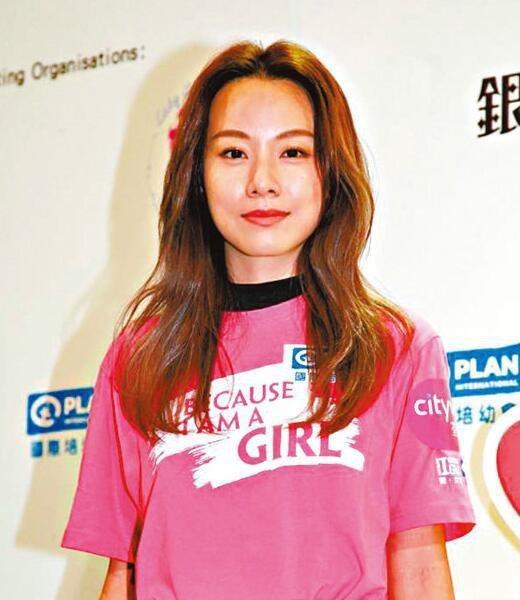 邓丽欣承认住男友王子台湾家里 但否认同居笑称是被收留关系