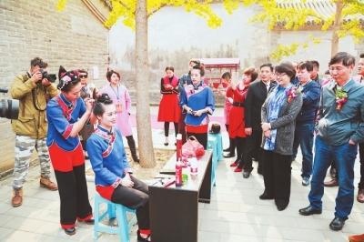 媽祖文化交流活動在北京東岳廟民俗博物館舉行