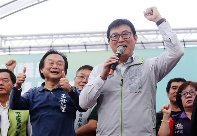 姚文智现迷之自信:绿营参选人民调都被低估了15%