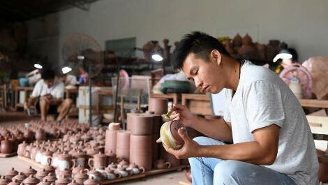 匠心傳承坭興陶文化