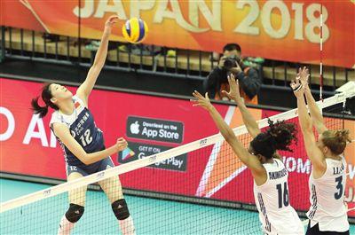 中國女排戰勝美國隊 李盈瑩替補出戰功不可沒