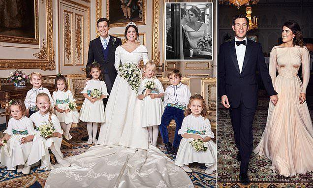 英國公主大婚官方全家福新鮮出爐!新娘驚艷,夏洛特霸氣坐姿搶鏡