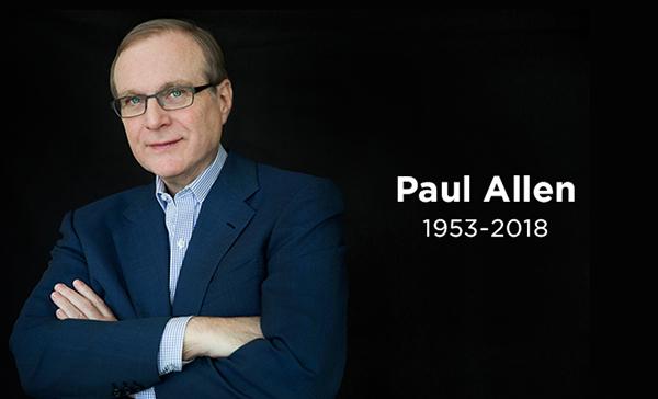 保罗艾伦去世终年65岁 保罗艾伦和比尔盖茨关系如何个人简介照片