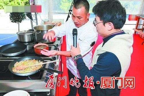 金沙国际娱乐场欢迎您薄饼亮相法国美食节大受欢迎 主厨是闽南人