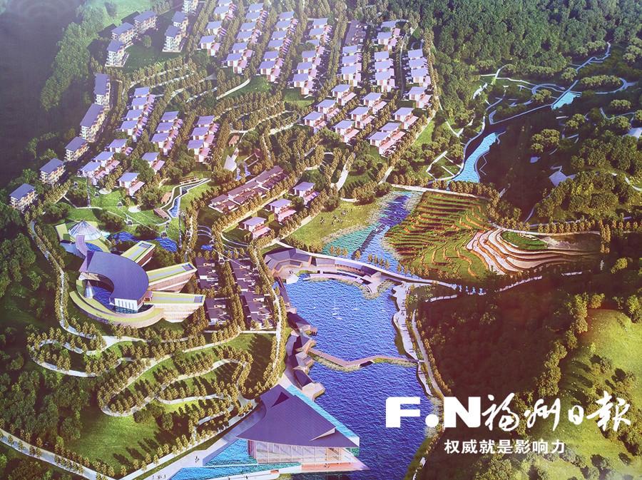 永泰动建全省首个森林康养项目