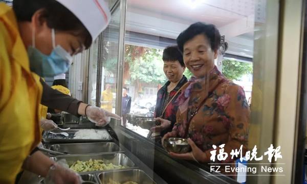 连江有个爱心食堂 每天向150人免费供应午餐