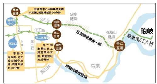福州东二环商圈 25分钟直达琅岐