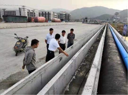 龙海浮宫:省道联络线六(疏港公路)建设基本完成