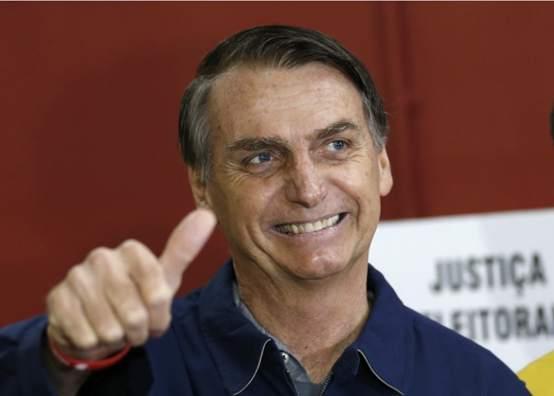 巴西大选结果出炉博尔索纳罗获胜 博尔索纳罗个人资料简介照片