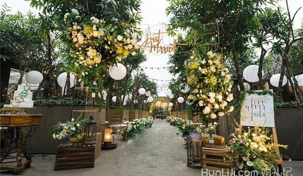 讓婚禮顏值瞬間提升N個level的方法 婚禮坐席創意設計