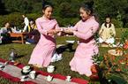 威彩国际武夷山:户外茶席成时髦