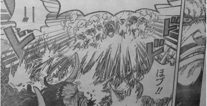 海賊王923話:最強攻擊果實確定,實力全盤崩潰,山治成了最強的