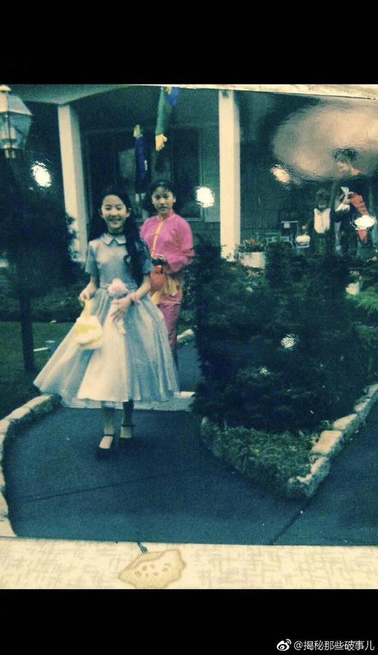 刘亦菲童年万圣节照曝光 网友:真是一路仙到大