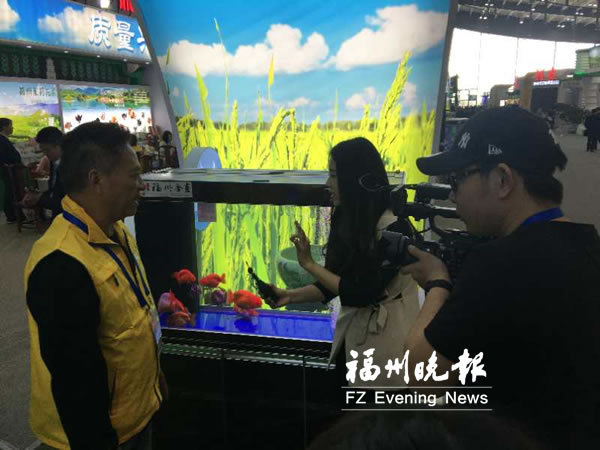 福州特色農產品亮相中國國際農交會
