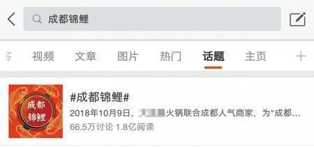 """1万本钱微博涨粉28万 """"成都锦鲤""""面前的网络营销"""