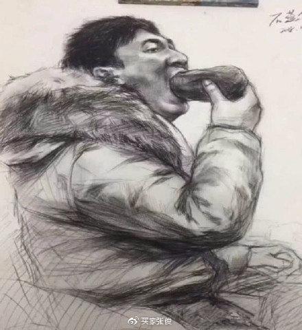 王思聪吃热狗被美术生盯上是什么梗?美术生做