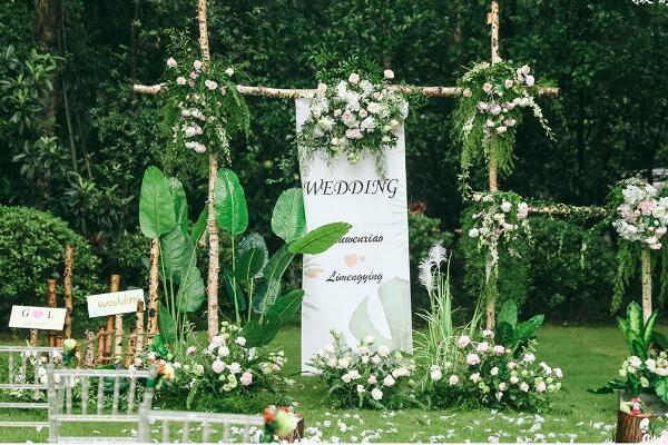 网红ins气势派头婚礼怎样部署 也想要一场如许的婚礼