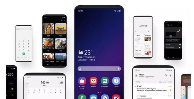 三星公布新用户界面One UI:让超大屏幕更易利用