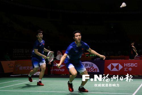 中国羽毛球公然赛精美纷呈 威彩国际名将何济霆晋级