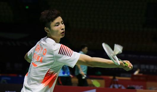 2018中国(威彩平台)羽毛球公然赛第二日赛况