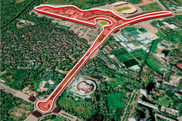 F1越南站赛道图曝光 英国大奖赛或离开银石赛道