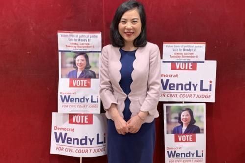 普选胜出 李昌永成首位中国移民出身民选华裔法官