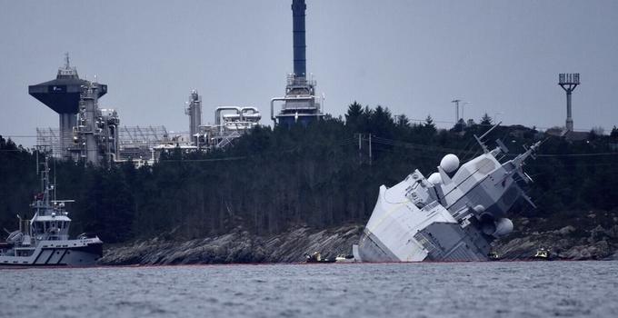 北约战舰演习沉没现场图片曝光 俄大笑:就这还想威慑我?
