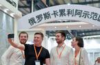 """福建南安:外国客商""""淘宝""""国际石材博览会"""