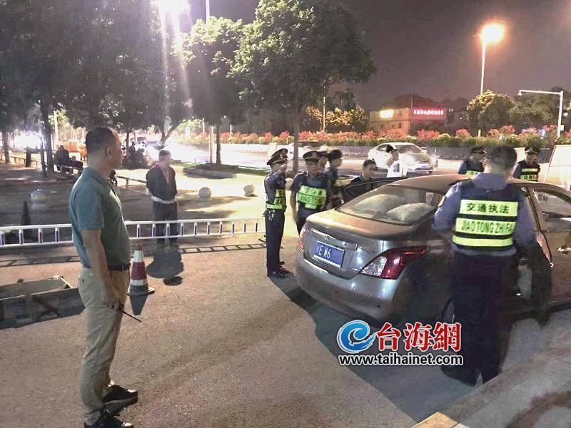 """漳州整治出租车""""第一枪""""查扣6辆违规车"""
