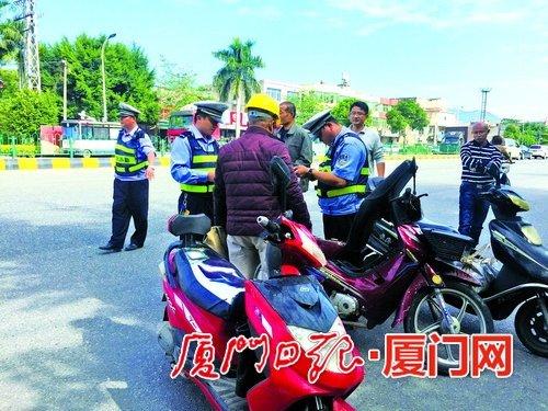 厦门1-10月产生交通变乱1064起 超五成涉事骑行人需担责
