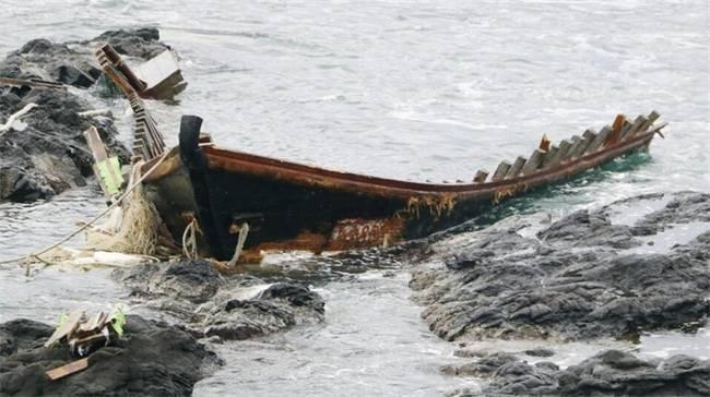日本少量幽灵船引发宁静担心 船上搭载着遗体乃至白骨