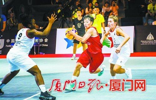 世界大学生三对三篮球联赛 总决赛今在华大开幕