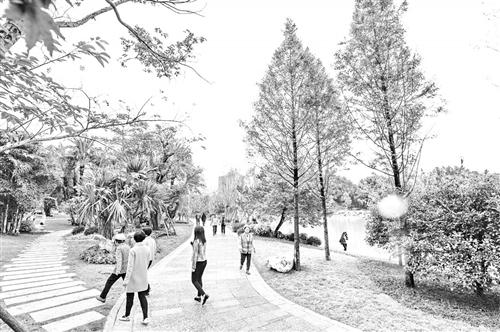 """福州西湖左海""""五通""""将串起榕4公园"""