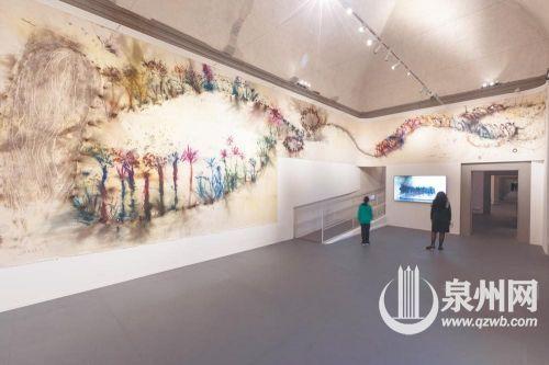 泉州籍著名藝術家蔡國強的個展《花曲》在意大利開展