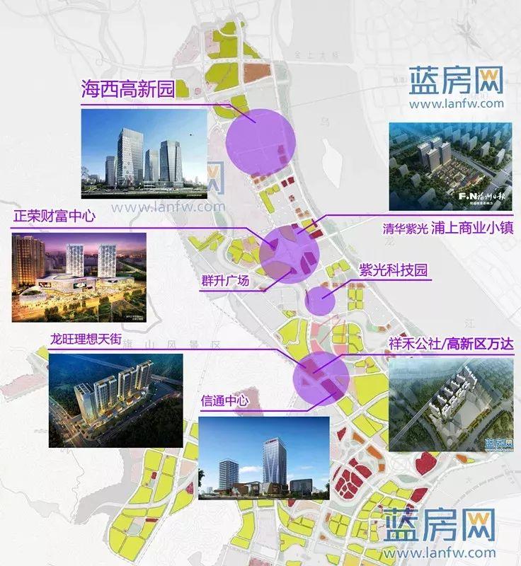 这么多!福州即将新建11个大型商圈!没数真想不到四区闽侯都有份!