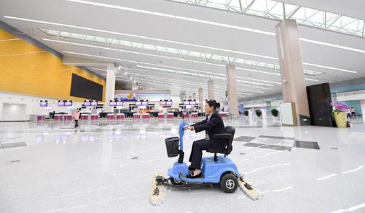 福州长乐国际机场第二轮扩能航站楼扩建工程竣工