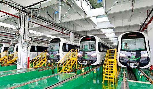 福州地铁2号线明年1月31日全线试运行